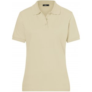 Dámské triko s límečkem premium JAMES NICHOLSON JN071 STONE