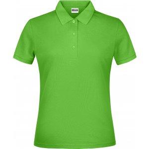 Dámské triko s límečkem classic JAMES NICHOLSON JN791 LIME GREEN