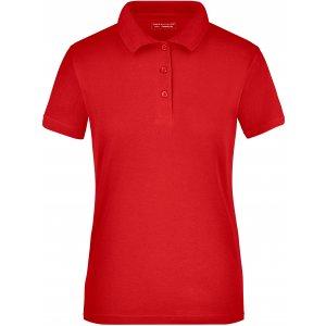 Dámské triko s límečkem funkční cooldry JAMES NICHOLSON JN197 RED