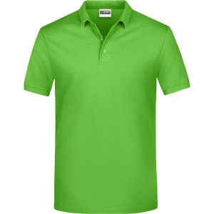 Pánské triko s límečkem classic JAMES NICHOLSON JN792 LIME GREEN