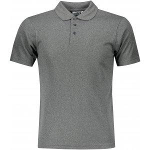 Pánské triko s límečkem funkční classic JAMES NICHOLSON JN720 DARK MELANGE