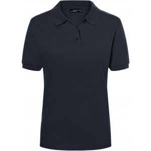 Dámské triko s límečkem premium JAMES NICHOLSON JN071 NAVY