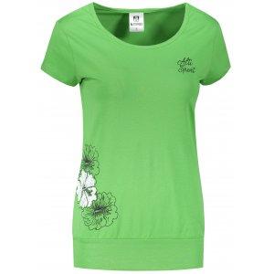 Dámské triko ALTISPORT ALW106120 TRÁVOVĚ ZELENÁ