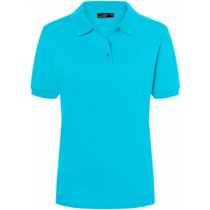 Dámské triko s límečkem premium JAMES NICHOLSON JN071 PACIFIC