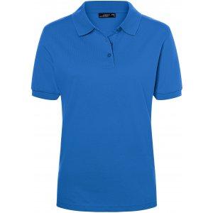 Dámské triko s límečkem premium JAMES NICHOLSON JN071 ROYAL