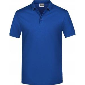 Pánské triko s límečkem classic JAMES NICHOLSON JN792 DARK ROYAL
