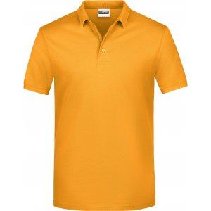 Pánské triko s límečkem classic JAMES NICHOLSON JN792 GOLD YELLOW