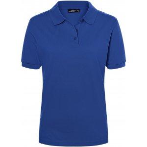 Dámské triko s límečkem premium JAMES NICHOLSON JN071 DARK ROYAL