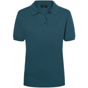 Dámské triko s límečkem premium JAMES NICHOLSON JN071 PETROL