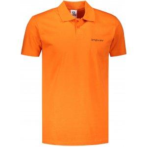 Pánské triko s límečkem ALTISPORT ALM110202 ORANŽOVÁ