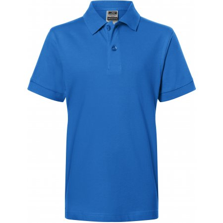 Dětské triko s límečkem premium JAMES NICHOLSON JN070K ROYAL