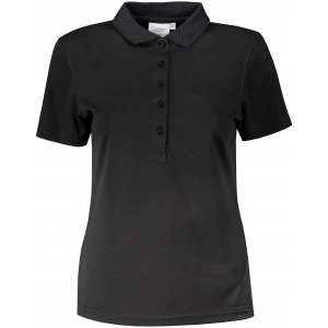 Dámské triko s límečkem funkční classic JAMES NICHOLSON JN719 BLACK