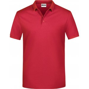 Pánské triko s límečkem classic JAMES NICHOLSON JN792 RED