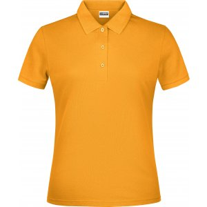 Dámské triko s límečkem classic JAMES NICHOLSON JN791 GOLD YELLOW