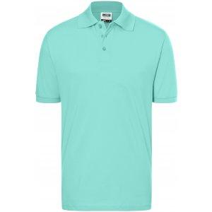 Pánské triko s límečkem premium JAMES NICHOLSON JN070 MINT