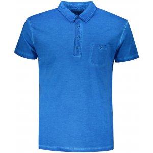 Pánské triko s límečkem fashion JAMES NICHOLSON JN988 ATLANTIC