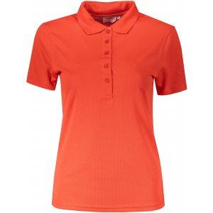 Dámské triko s límečkem funkční classic JAMES NICHOLSON JN719 GRENADINE