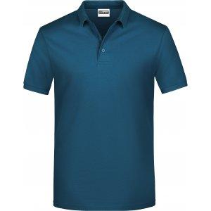 Pánské triko s límečkem classic JAMES NICHOLSON JN792 PETROL