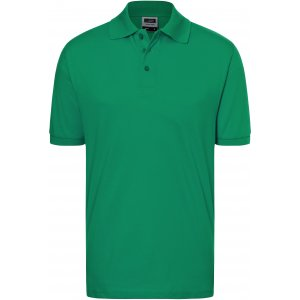 Pánské triko s límečkem JAMES NICHOLSON JN070 IRISH GREEN