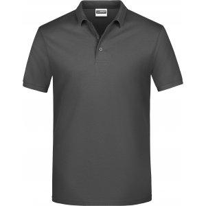 Pánské triko s límečkem classic JAMES NICHOLSON JN792 GRAPHITE