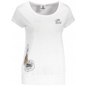 Dámské triko ALTISPORT ALW106120 BÍLÁ