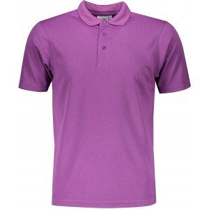 Pánské triko s límečkem funkční classic JAMES NICHOLSON JN720 PURPLE