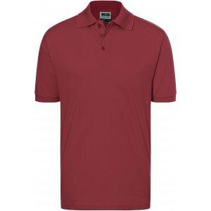 Pánské triko s límečkem premium JAMES NICHOLSON JN070 WINE