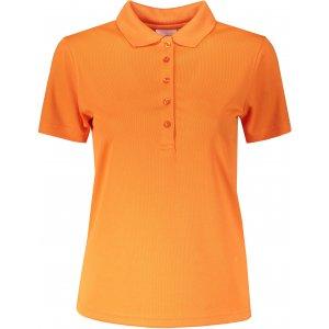 Dámské triko s límečkem funkční classic JAMES NICHOLSON JN719 ORANGE