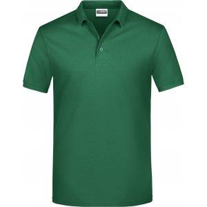 Pánské triko s límečkem classic JAMES NICHOLSON JN792 IRISH GREEN
