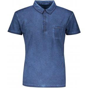 Pánské triko s límečkem fashion JAMES NICHOLSON JN988 DENIM
