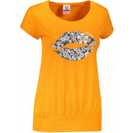 Dámské triko ALTISPORT ALW102120 TANGERINE ORANGE