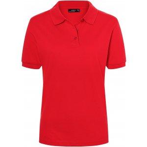 Dámské triko s límečkem premium JAMES NICHOLSON JN071 SIGNAL RED