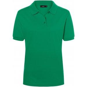 Dámské triko s límečkem premium JAMES NICHOLSON JN071 IRISH GREEN