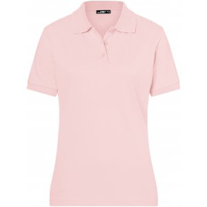 Dámské triko s límečkem premium JAMES NICHOLSON JN071 ROSE