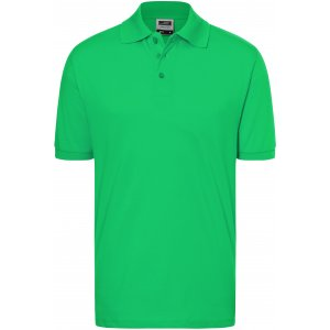 Pánské triko s límečkem premium JAMES NICHOLSON JN070 FERN GREEN