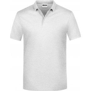 Pánské triko s límečkem classic JAMES NICHOLSON JN792 ASH