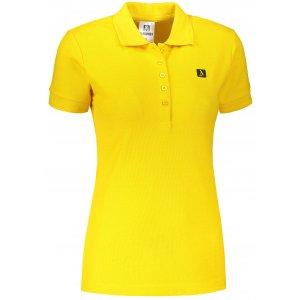 Dámské triko s límečkem ALTISPORT ALW065210 ŽLUTÁ