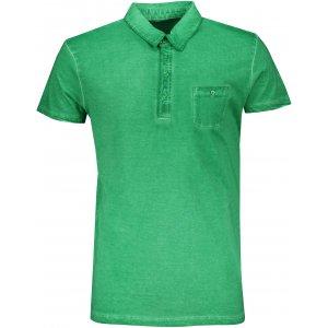 Pánské triko s límečkem fashion JAMES NICHOLSON JN988 FERN GREEN