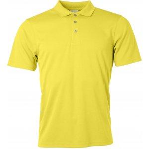 Pánské triko s límečkem funkční classic JAMES NICHOLSON JN720 YELLOW