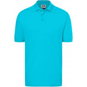 Pánské triko s límečkem premium JAMES NICHOLSON JN070 PACIFIC
