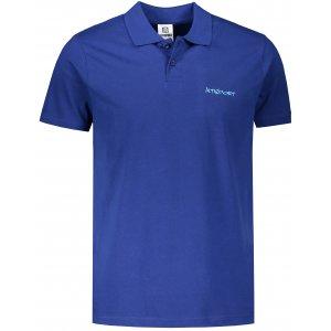 Pánské triko s límečkem ALTISPORT ALM110202 KRÁLOVSKÁ MODRÁ