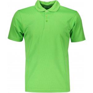 Pánské triko s límečkem funkční classic JAMES NICHOLSON JN720 GREEN