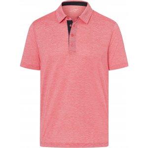 Pánské triko funkční s límečkem JAMES NICHOLSON JN754 RED/WHITE