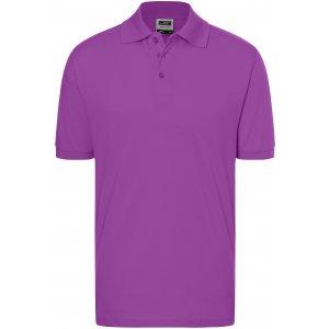 Pánské triko s límečkem premium JAMES NICHOLSON JN070 PURPLE