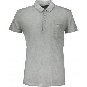 Pánské triko s límečkem fashion JAMES NICHOLSON JN988 GREY