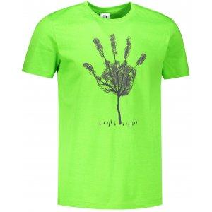 Pánské triko ALTISPORT ALM103129 APPLE GREEN