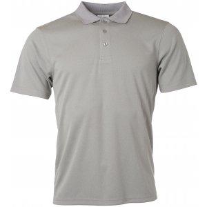 Pánské triko s límečkem funkční classic JAMES NICHOLSON JN720 LIGHT MELANGE