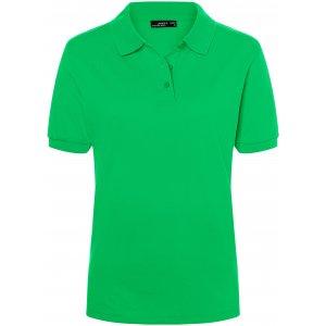 Dámské triko s límečkem premium JAMES NICHOLSON JN071 FERN GREEN