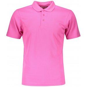 Pánské triko s límečkem funkční classic JAMES NICHOLSON JN720 PINK