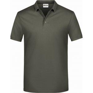 Pánské triko s límečkem classic JAMES NICHOLSON JN792 DARK GREY